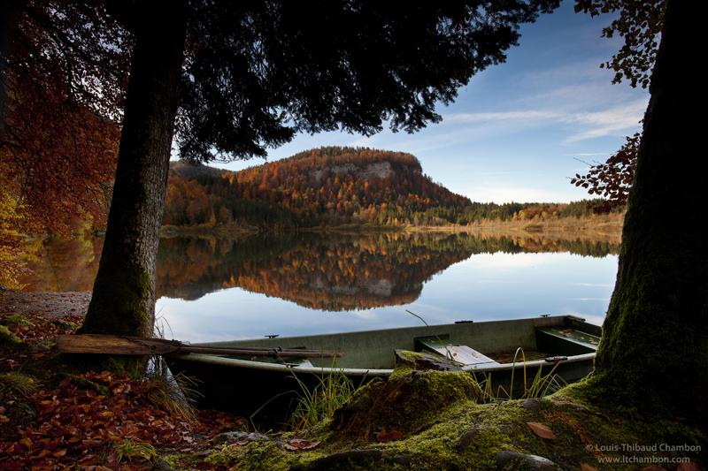 lac de bonlieu - cascades de france
