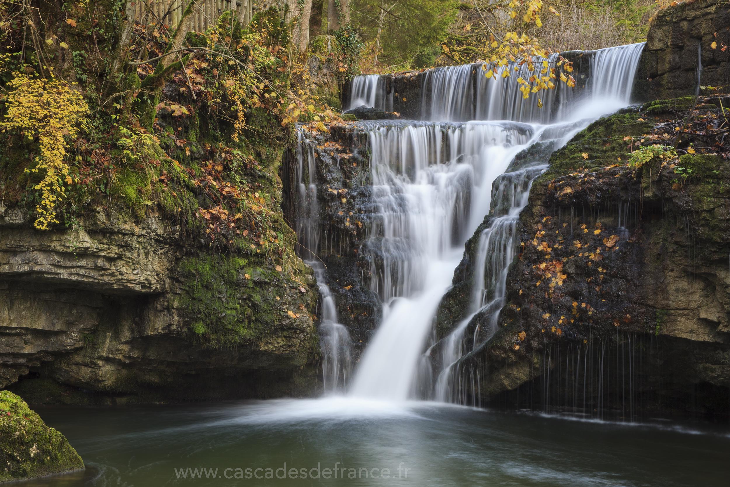 Cascade du Saut Girard - Cascades du Hérisson - Ilay ...