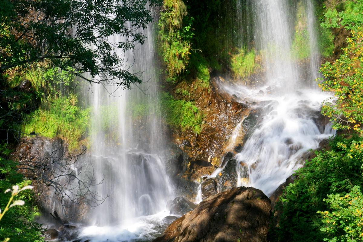 Cascade de la Roucolle et Pas de Cère – Thiézac – Cantal - Cascades de  France